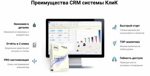 КлиК: CRM Продажи